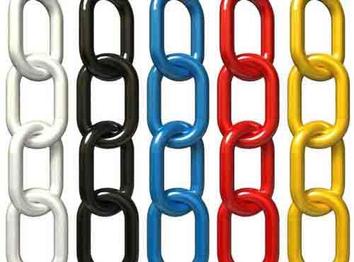 1 inch plastic chain