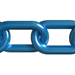 Blue Plastic Chain
