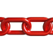 Red Plastic Chain